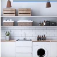 Laundry Tub & Cabinet